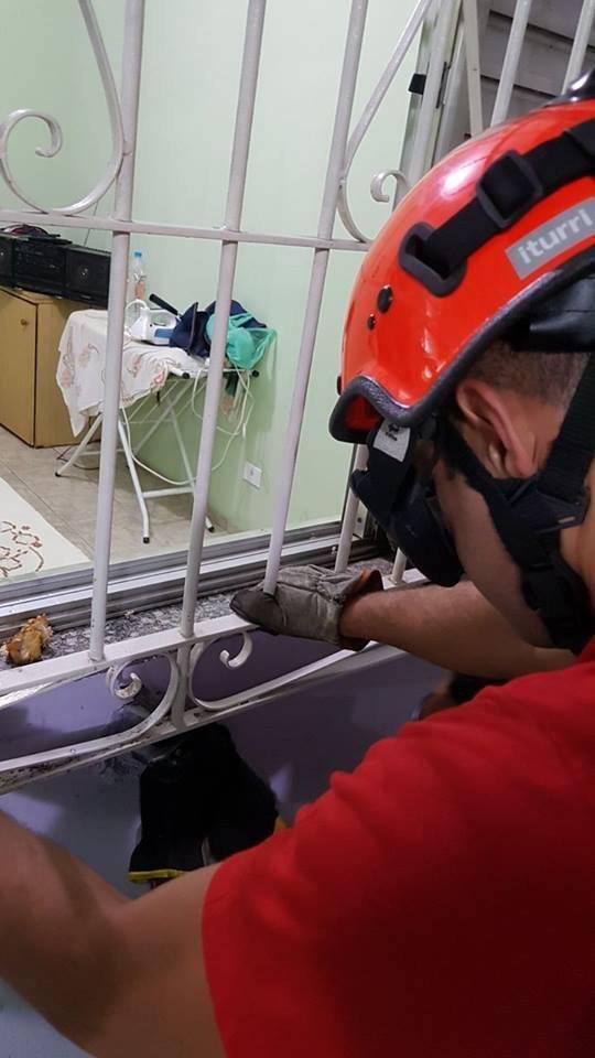 Ação ocorreu em Guaianazes, zona leste de São Paulo Divulgação/Corpo de Bombeiros PMESP