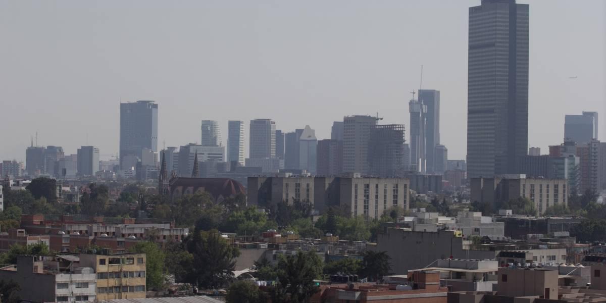 Se registra mala calidad del aire en tres municipios del Edomex y una delegación