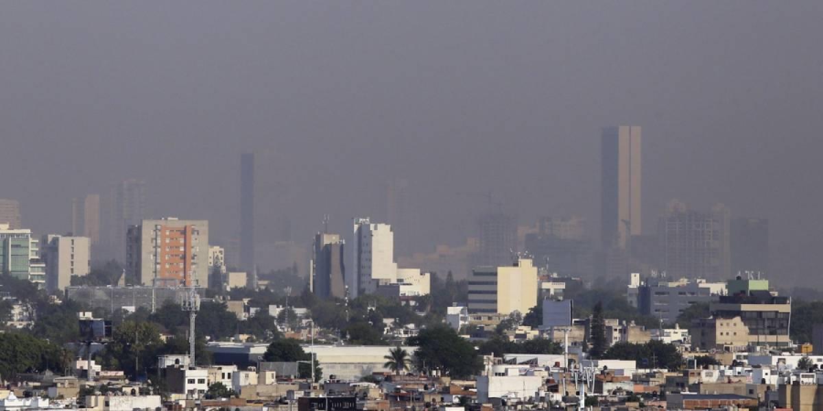 Amanece la Zona Metropolitana de Guadalajara con problemas de contaminación