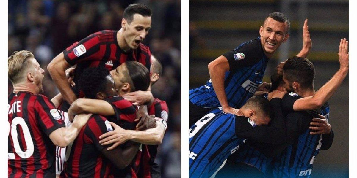 Italia vibra cuando faltan pocas horas para el derbi de Milán