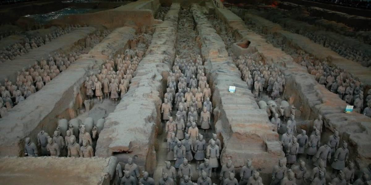 El primer emperador de China Qin Shihuang ordenó que se hallara el elixir de la inmortalidad