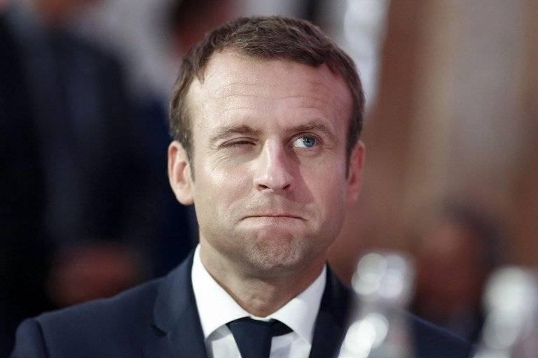 Presidente francés Emmanuel Macron