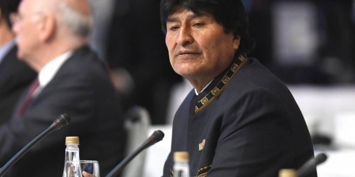 """Evo Morales sobre decisión de Guatemala: """"Lamentamos que algunos gobiernos vendan su dignidad"""""""