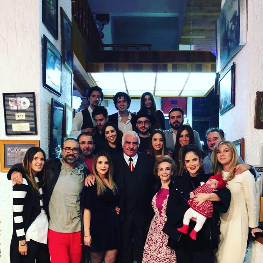La familia Fernández.