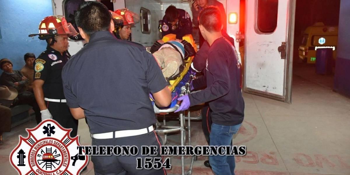 Dos niños mueren tras ser atropellados cuando participaban en posada en Quiché