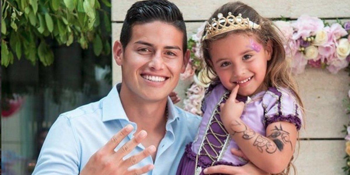 James Rodríguez y Daniela Ospina le dan a su hija el mejor regalo en Navidad