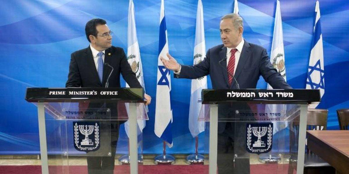 Guatemala trasladará su embajada a Jerusalén
