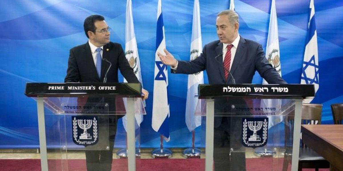VIDEO. Netanyahu agradece a Morales el traslado de embajada guatemalteca a Israel