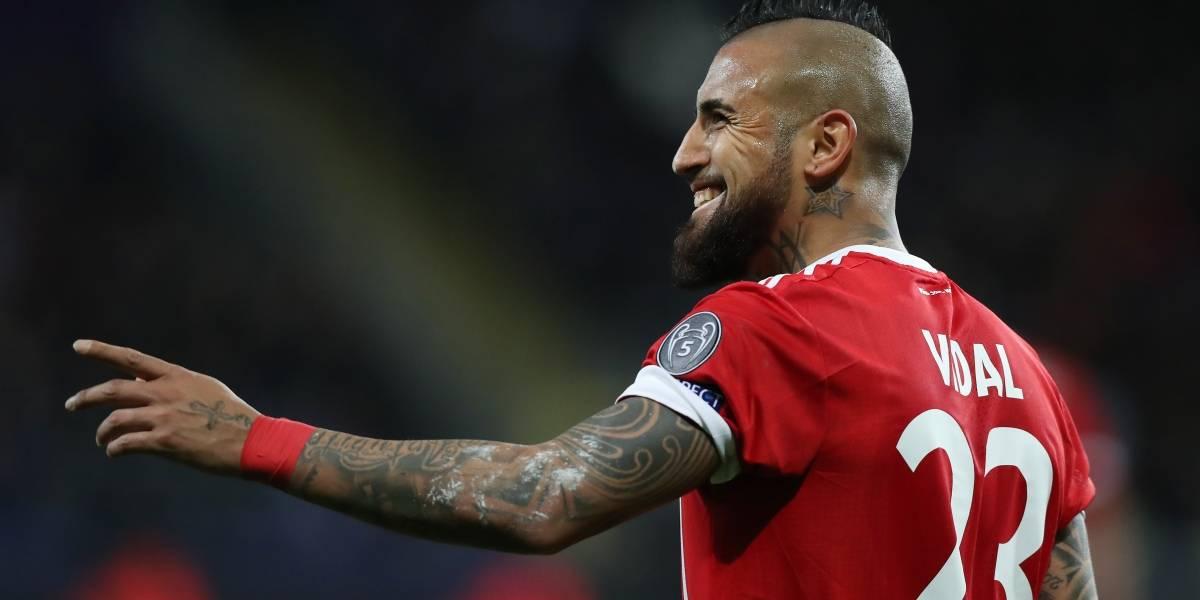 """""""El retorno del Guerrero Vidal"""": en Italia destacan el renacer del chileno en Bayern Munich"""
