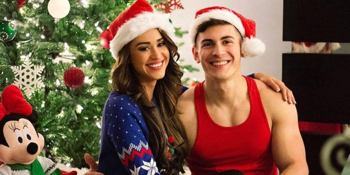 Yanet García celebra Navidad con íntima foto junto a su novio