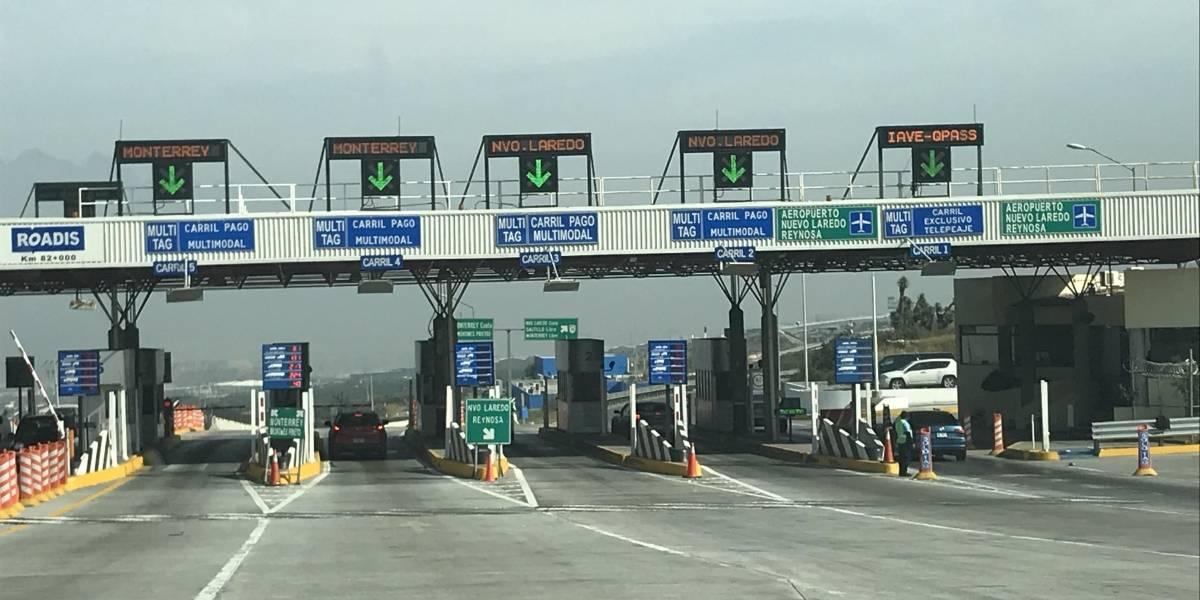 FOTO: Así luce la caseta de la autopista Saltillo-Monterrey