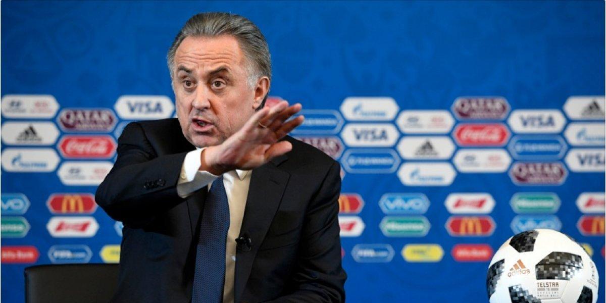 Presidente de la Federación rusa suspende sus funciones a unos meses de que inicie el Mundial