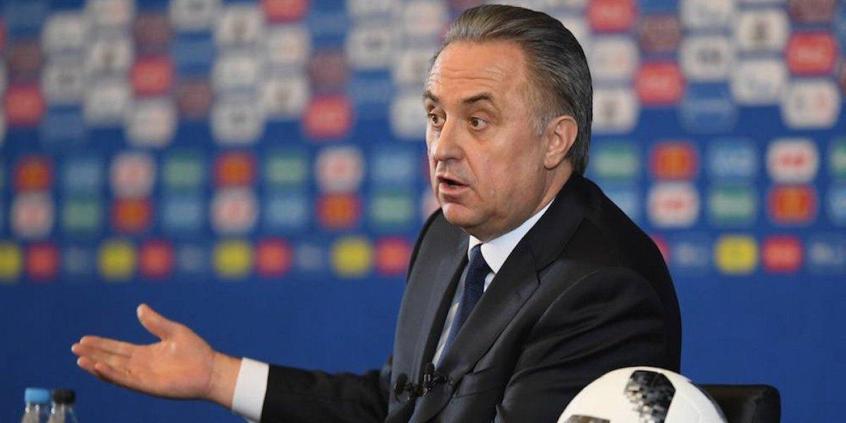 A meses del Mundial, renuncia presidente de la Federación rusa de futbol
