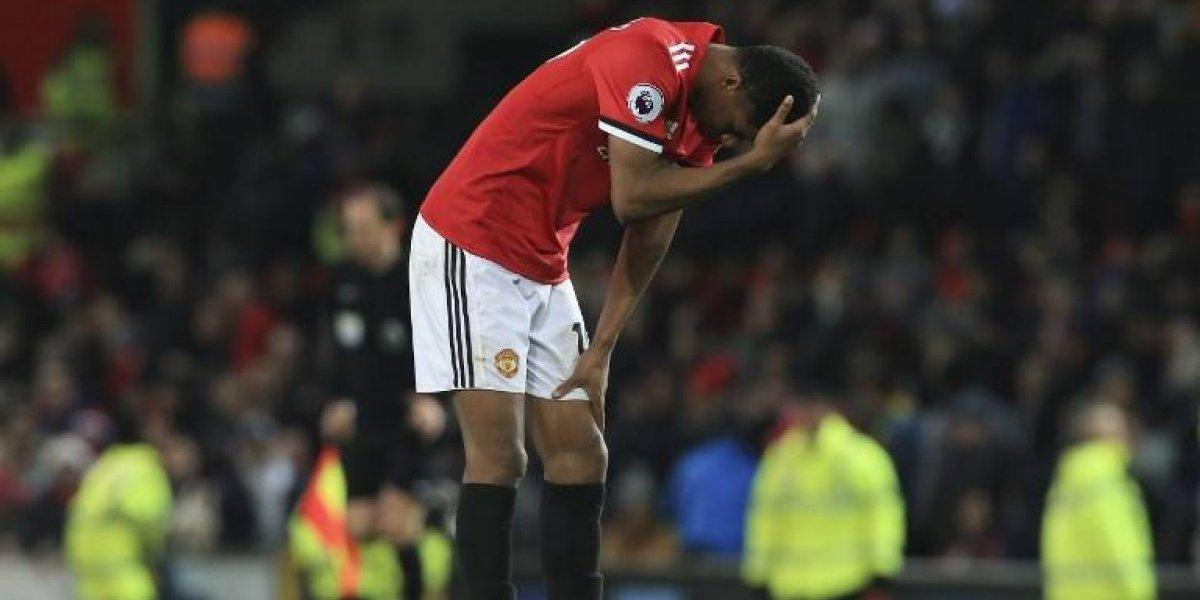 Manchester United rasguñó un empate que fue celebrado por el City
