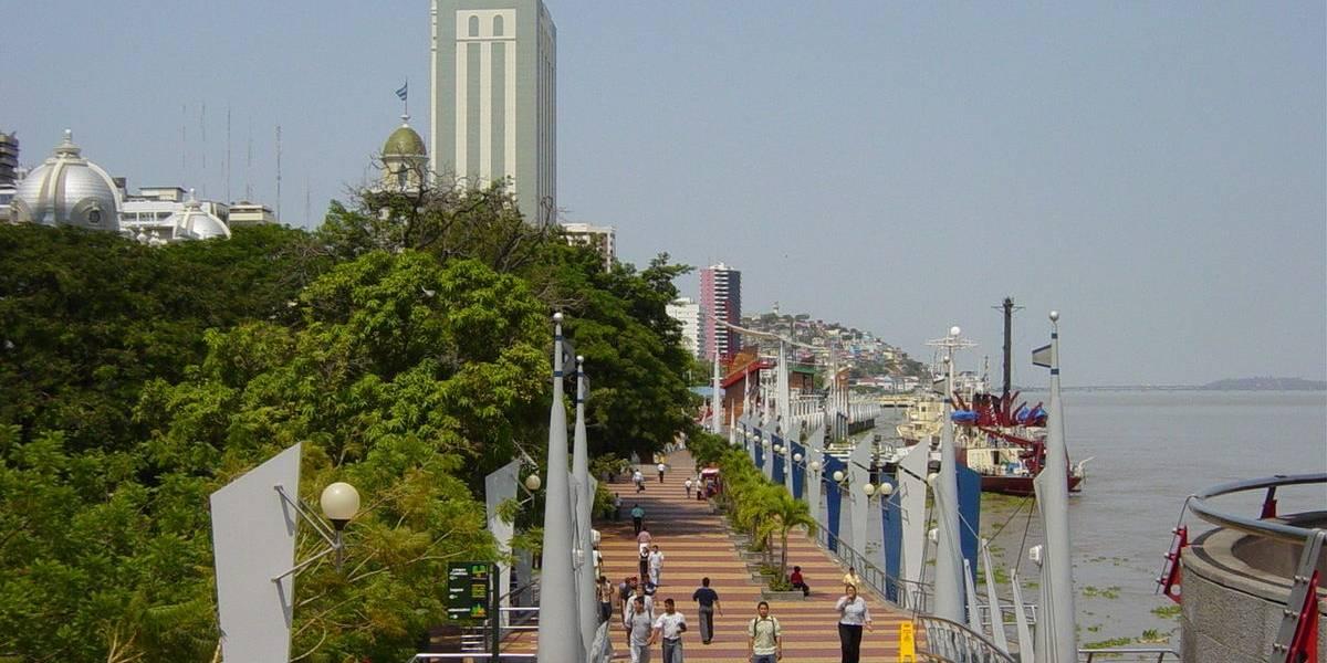 Horarios de malecones en Guayaquil por feriado Fin de Año