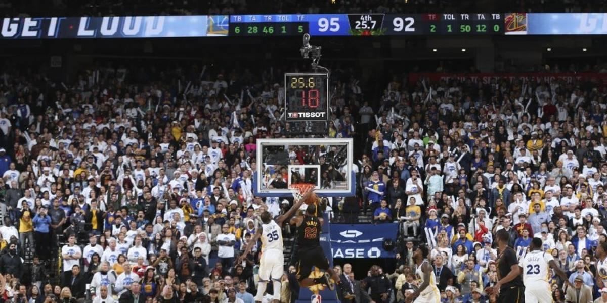 Con polémica: Durant le gana el duelo a LeBron en triunfo de los Warriors sobre Cavaliers