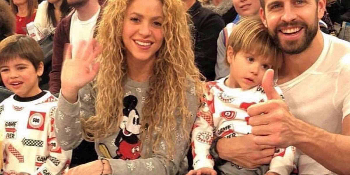 La 'postal navideña' con la que Shakira y Piqué callan los rumores de una crisis matrimonial
