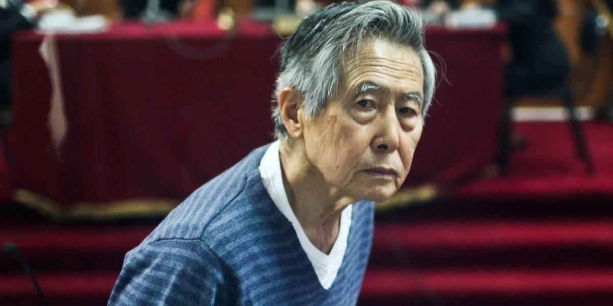 Fujimori pide perdón a peruanos a quienes defraudó