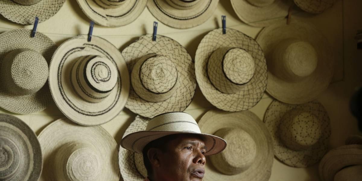 UNESCO reconoce al 'verdadero' sombrero de Panamá, el 'Pintao'