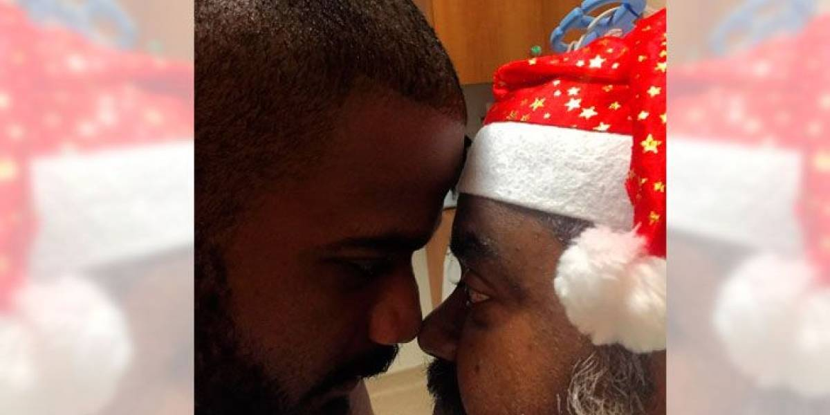 Filho de Arlindo Cruz posta foto com o pai em hospital após AVC