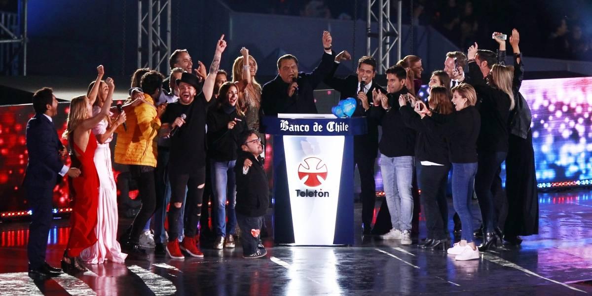 Teletón dio a conocer recaudación final de campaña 2017