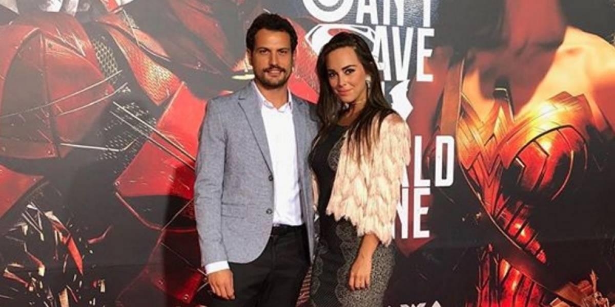 ¡Muy románticos! Así pasan vacaciones Roberto Urbina y Maria Elisa Camargo