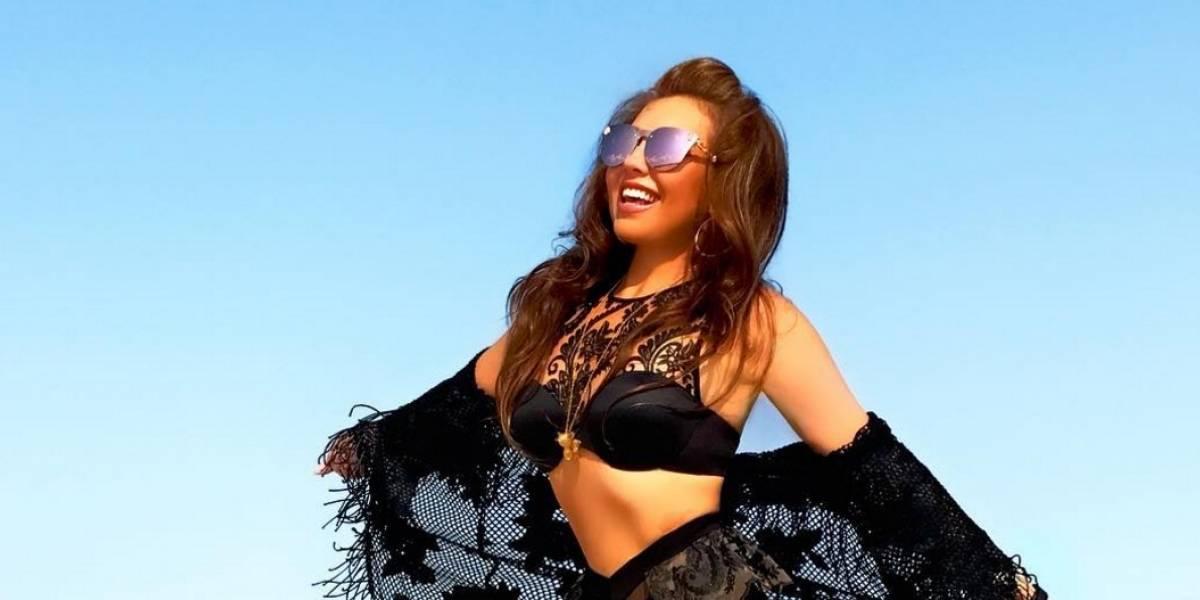 El extravagante nuevo look de Thalía con el que paralizó las redes sociales