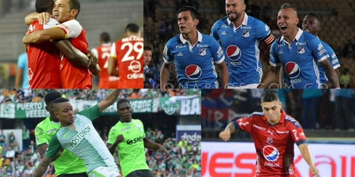 Así se mueve la bolsa de jugadores del fútbol profesional colombiano