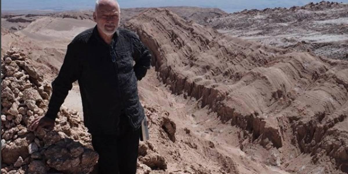 """David Gilmour celebra la Navidad en """"el lado oscuro"""" de El valle de la Luna"""
