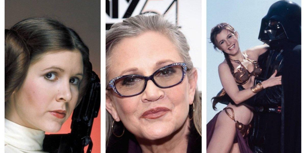 Carrie Fisher: vivió y murió con la princesa Leia