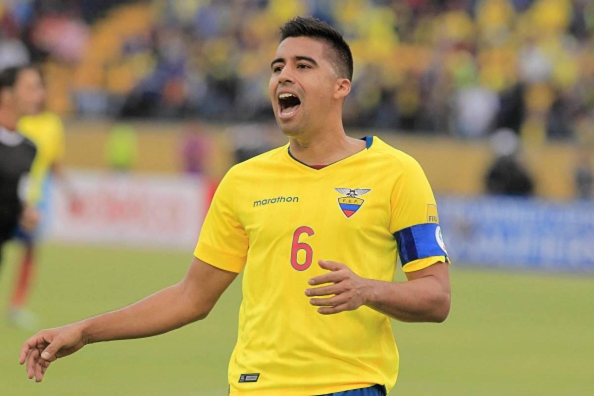 Cristhian Noboa habló de los problemas en la interna de la Selección de Ecuador EFE