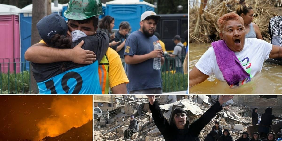 Los 5 peores desastres naturales de 2017