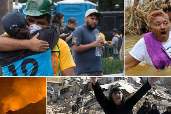 Desastres naturales de 2017