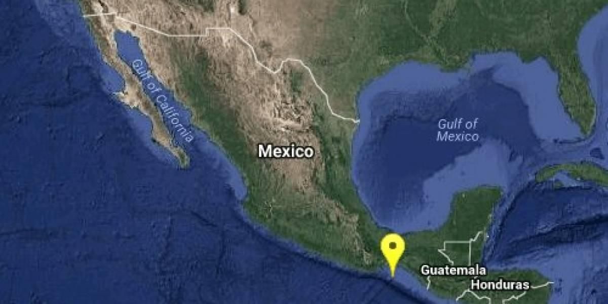 Se registra sismo de 4.9 grados en Salina Cruz