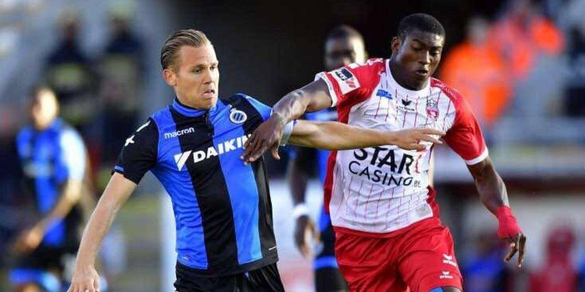 Govea pone asistencia en derrota del Mouscron