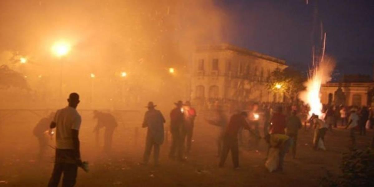 39 personas heridas por accidente pirotécnico en Cuba