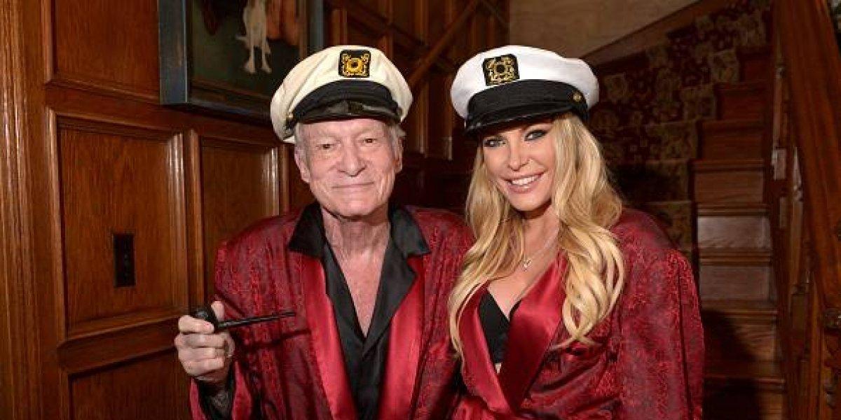 Casi tres meses después, la viuda de Hugh Hefner reapareció en las redes