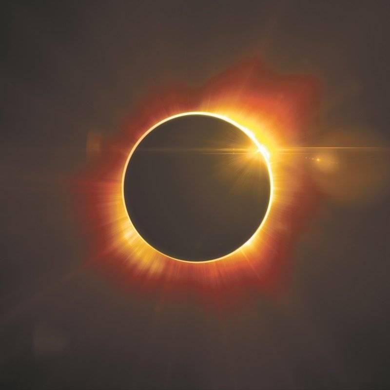 Un eclipse especial: