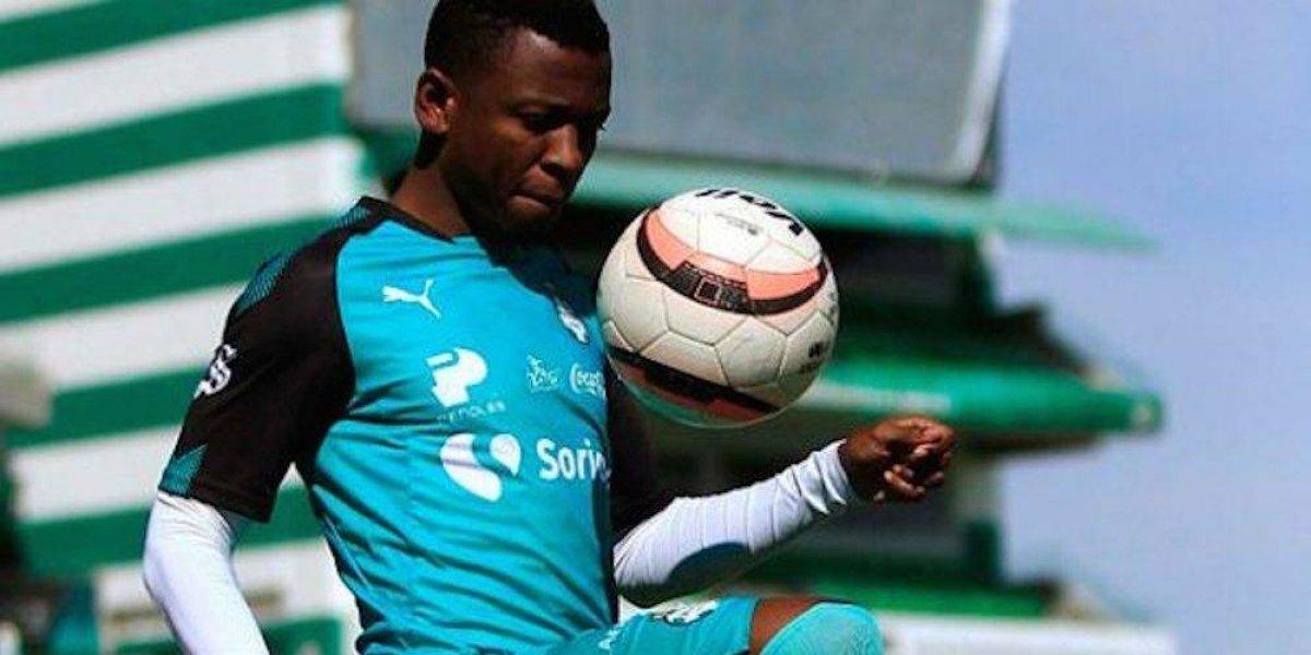 Santos manda de regreso a Morelia a Jefferson Cuero