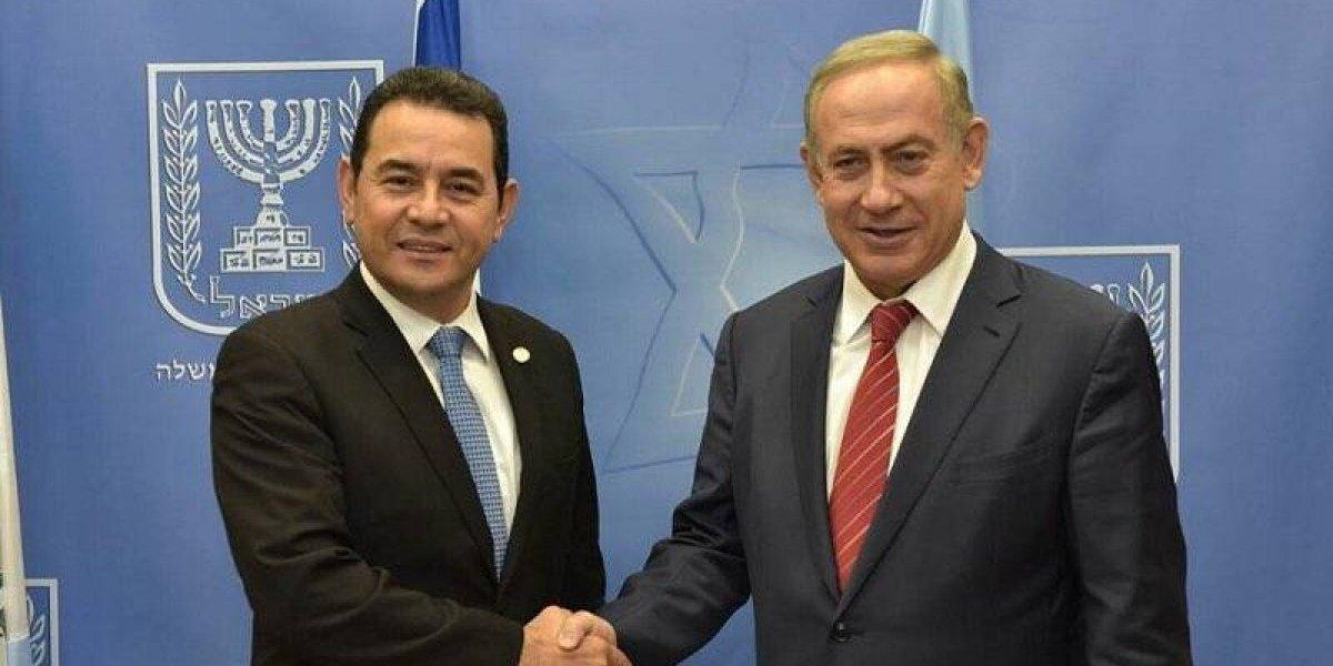 Guatemala inicia proceso para trasladar su embajada en Israel a Jerusalén