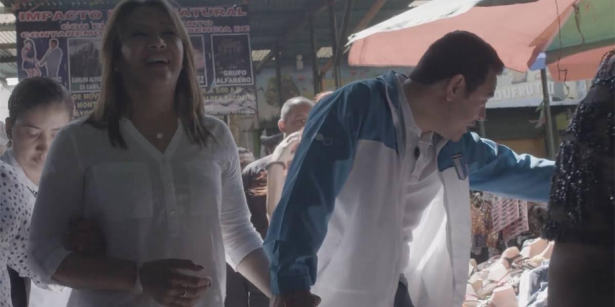 VIDEO. Jimmy Morales envía mensaje de Año Nuevo desde La Terminal