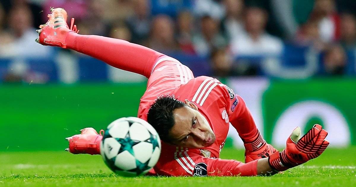 Keylor Navas: o goleiro da Costa Rica teve o salário melhorado na última temporada para ganhar cerca de 4 milhões euros por ano, cerca de 83 mil euros por semana. Gonzalo Arroyo Moreno/Getty Images