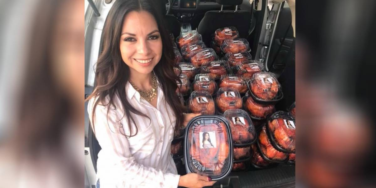 ¡Lo volvió a hacer! diputada de Zacatecas da polémico regalo y la apodan #LadyPollos