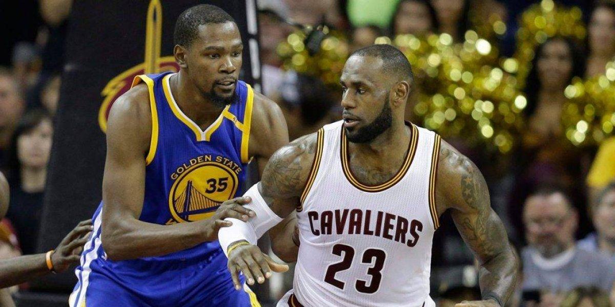 "LeBron, sobre defensa final de Durant: ""Me hizo falta dos veces"""