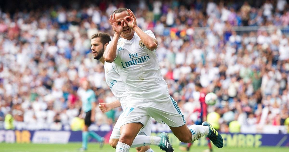 Lucas Vázquez: dos piores salários com 60 mil euros, recebe mais de 2,8 milhões euros por ano Denis Doyle/Getty Images