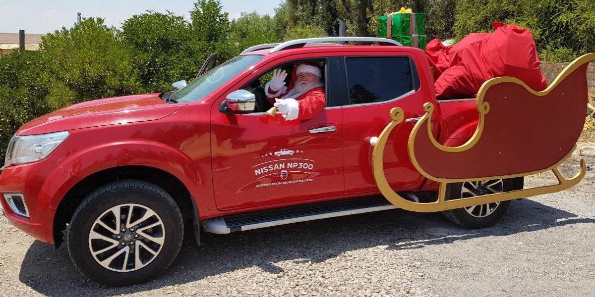 Nissan celebró la Navidad con jardín infantil de Pudahuel