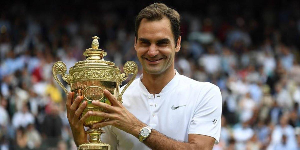 Jugar poco, ganar todo: el increíble 2017 de Federer