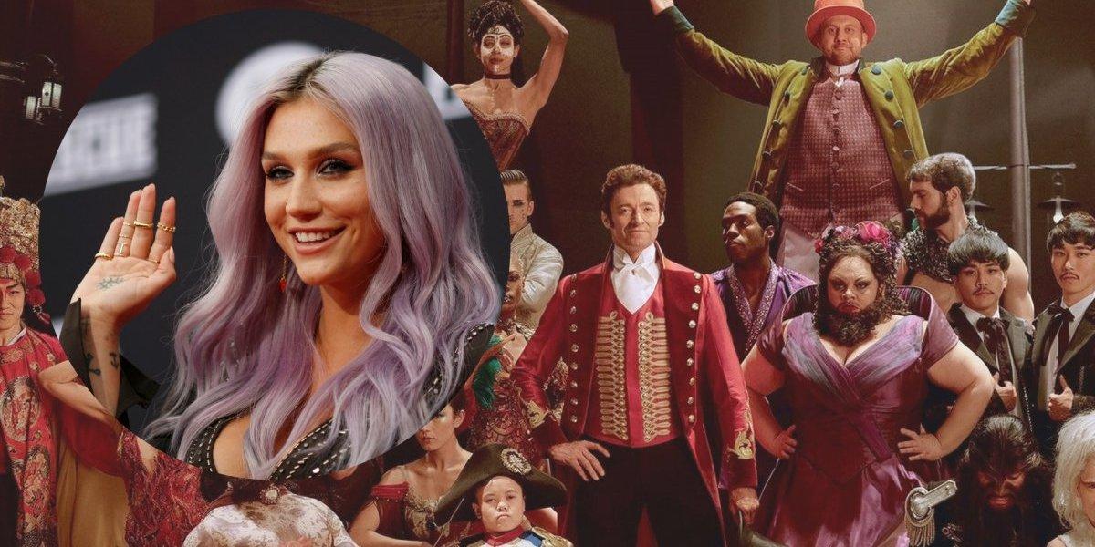 Kesha faz cover emocionante de música do filme 'O Rei do Show'; ouça