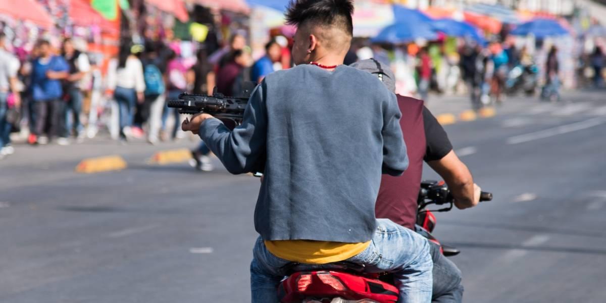La impactante foto que refleja la violencia cotidiana en Tepito