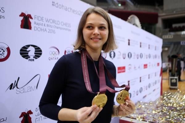 campeona de ajedrez